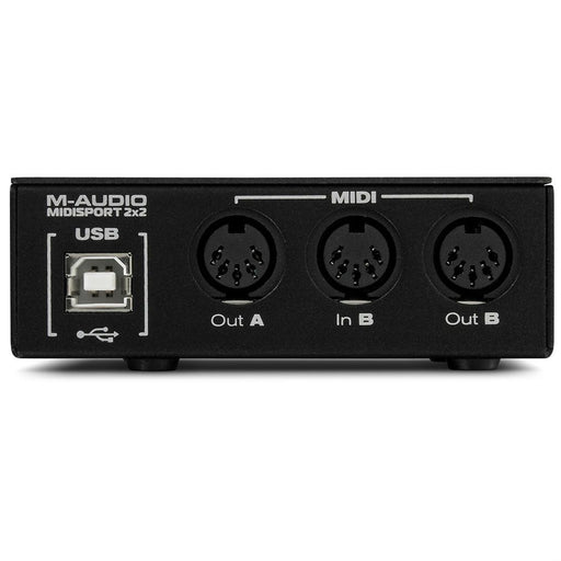 M-Audio MIDISPORT 2x2 MIDI Interface Anniversary Edition - Music Junkie