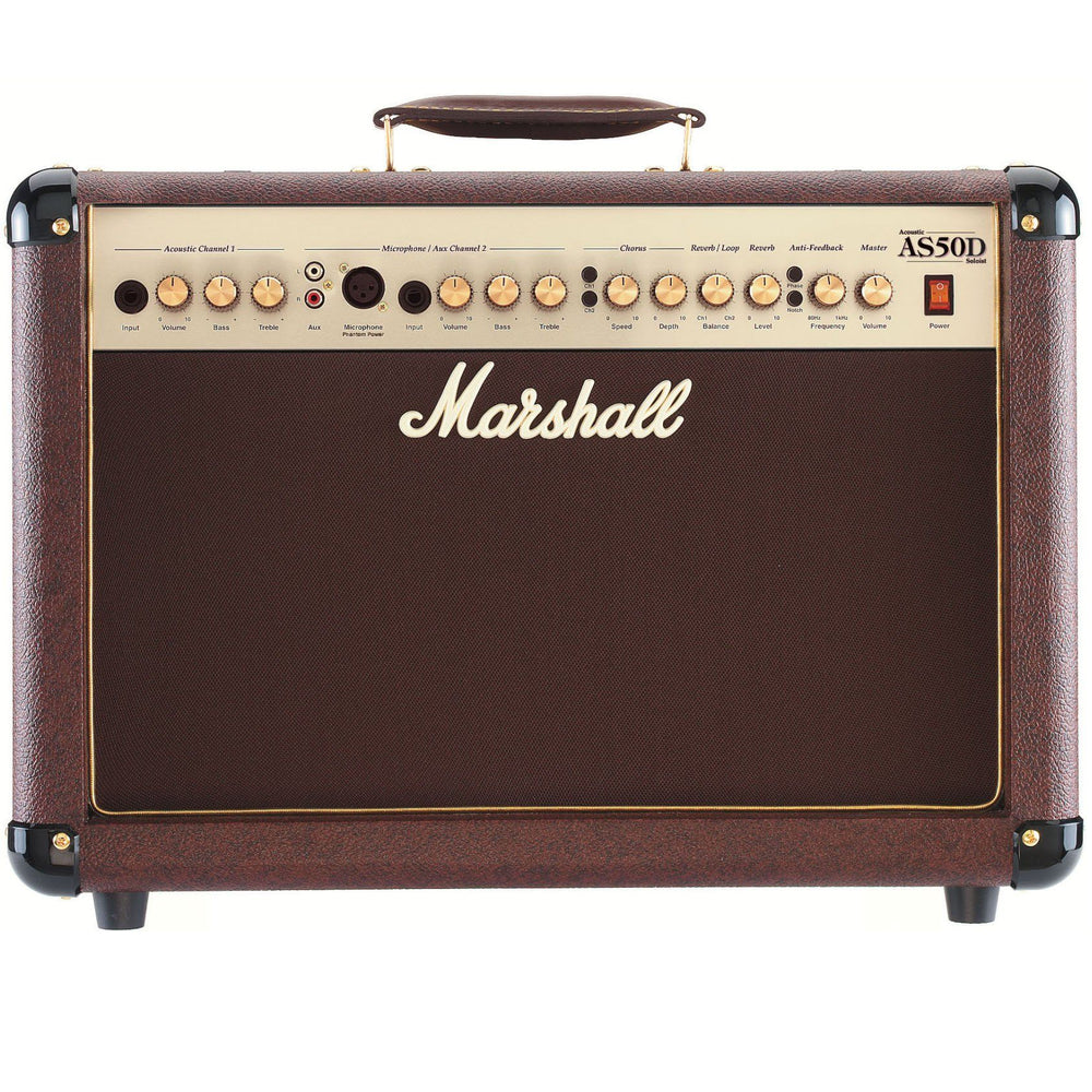 Marshall As50d Acoustic Guitar Combo