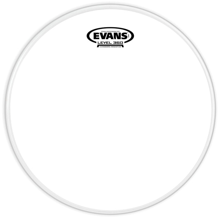 Evans Power Center Reverse Dot Drum Head 13 Inch - Music Junkie