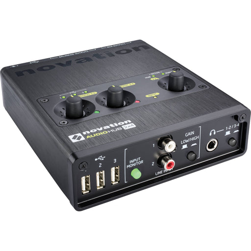 Novation Audiohub 2x4 USB Audio Interface - Music Junkie