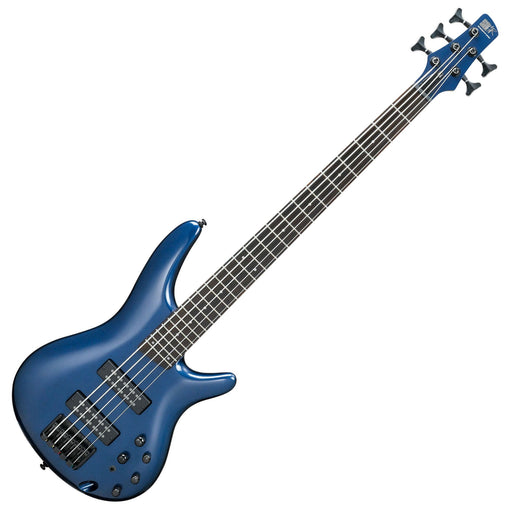 Ibanez SR305EB-NM 5-string Bass Guitar Navy Metallic - Music Junkie