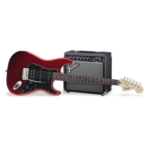 Squier Affinity HSS Strat Pack Candy Apple Red - Music Junkie