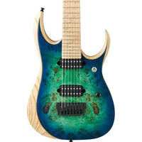 Ibanez RGDIX7MPB-SBB 7 String Electric Surreal Blue Burst - Music Junkie