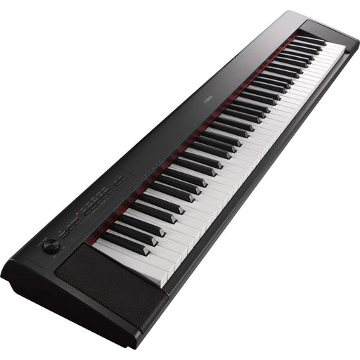 Yamaha Piaggero NP32B Portable Keyboard Black - Music Junkie
