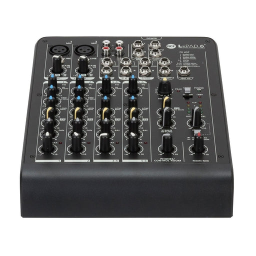 RCF LPAD6X 6-Channel Mixer with Effects - Music Junkie