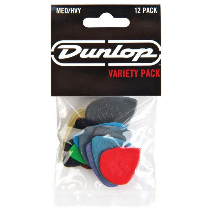 Dunlop Variety Pack Med-Heavy Player Pack (12 Picks) - Music Junkie