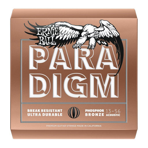 Ernie Ball Paradigm Phosphor Bronze Acoustic Strings 13-56 - Music Junkie