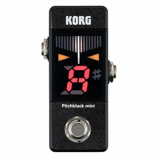 Korg PitchBlack Mini Pedal Tuner Black - Music Junkie