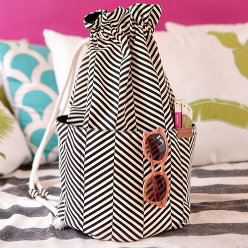 Beach Bucket Tote