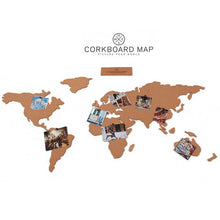 Corkboard Map
