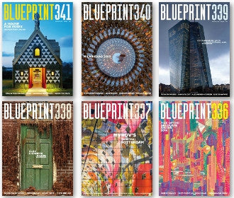 12 month subscription to Blueprint Magazine (6 issues)