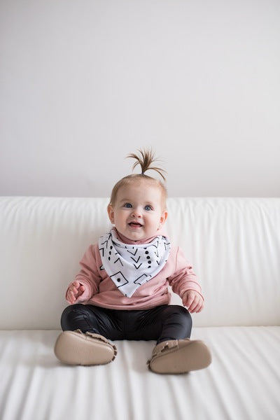 Original Mud Cloth Bandana Bib