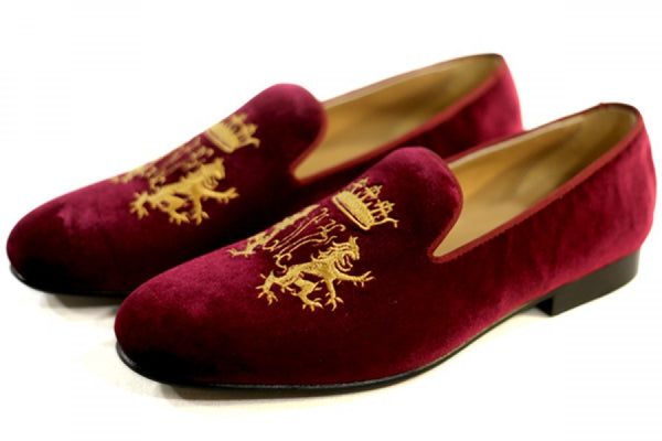 Crown Leo Burgundy