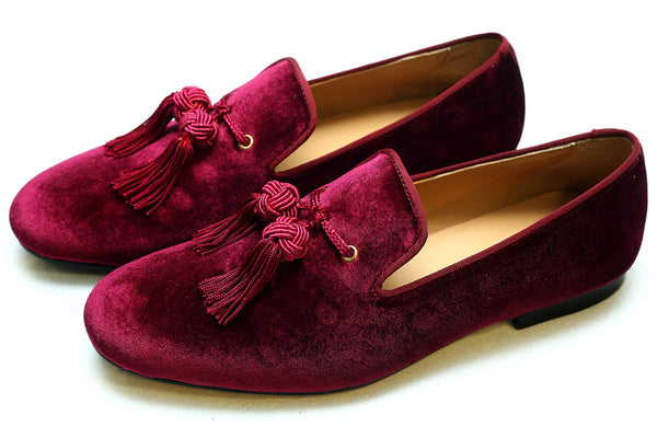Bullion Tassel Burgundy
