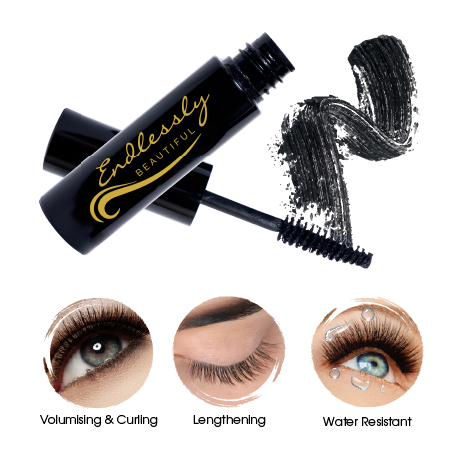 Mascara Black by Endlessly Beautiful | Organic Makeup | A Cruelty Free Mascara thats a makes a great Vegan Gifts