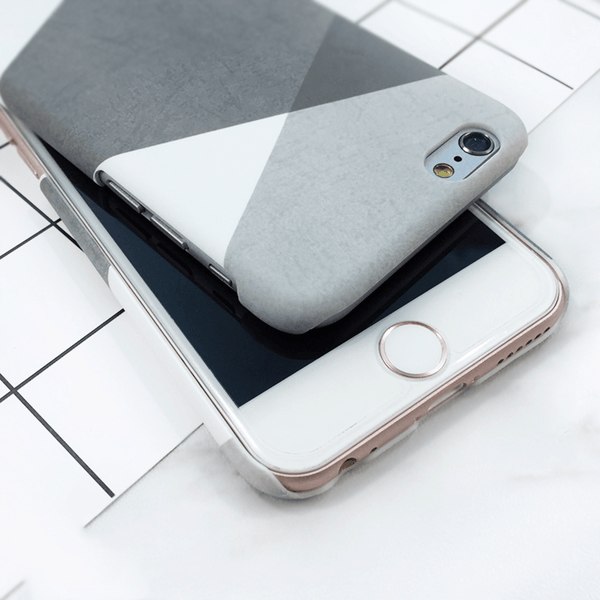 etui-iphone: Grey Geometry