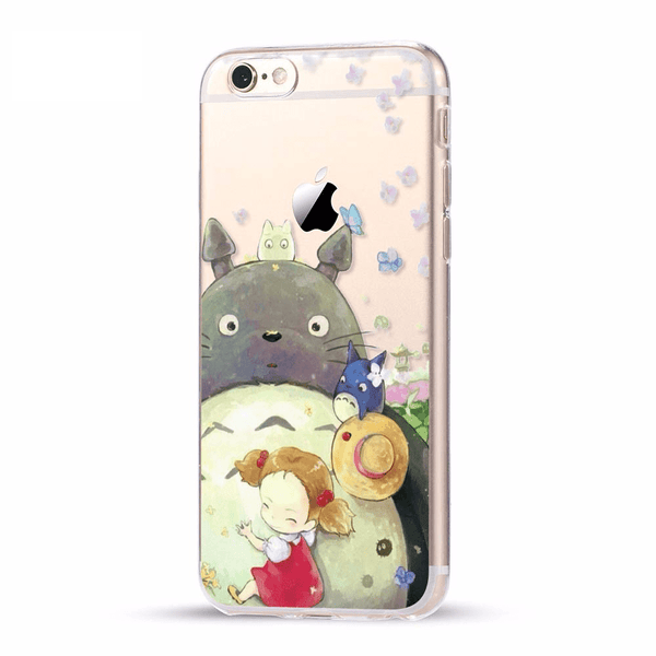 etui-iphone: Totoro with Friends