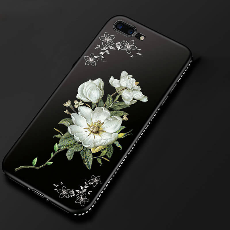 Diamond Flowers Dark