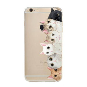 etui-iphone: Lots of Cats