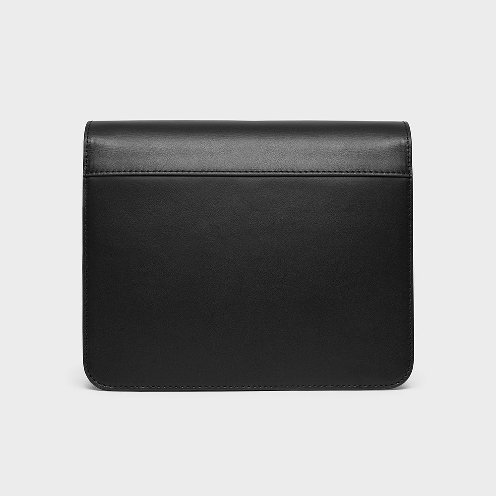 Flap Box Crossbody - No° N1 - Black Smooth Nappa
