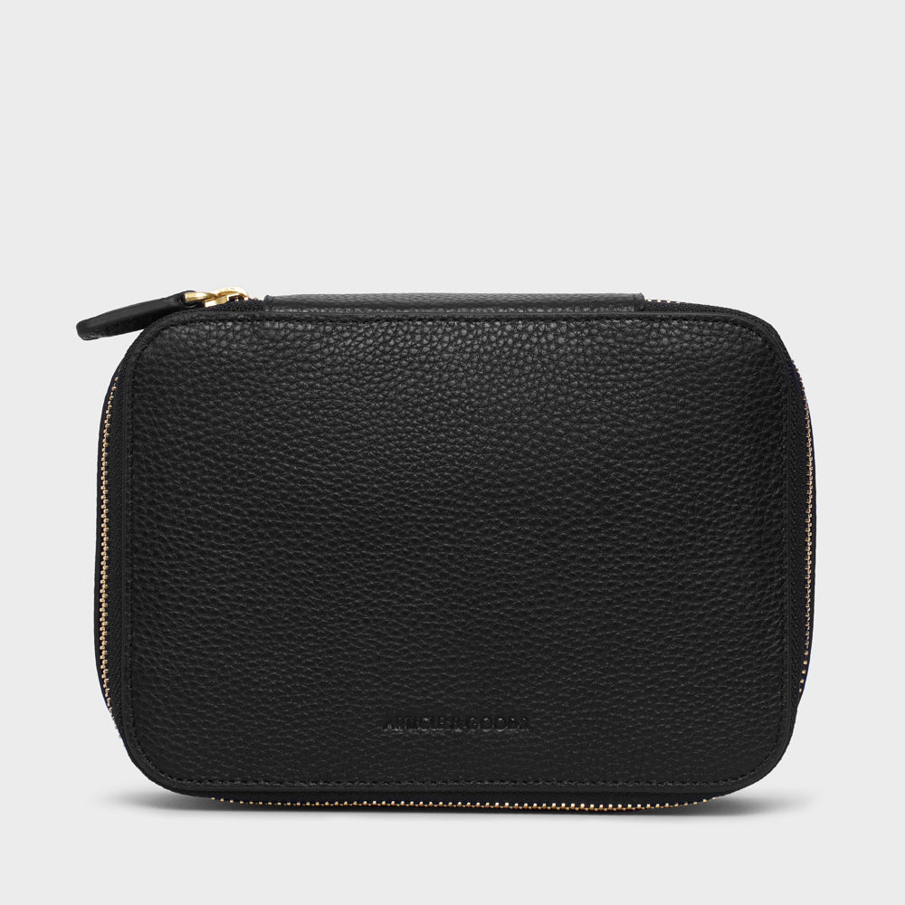Medium Carryall Case - No° MM1 - Black Pebble Grain