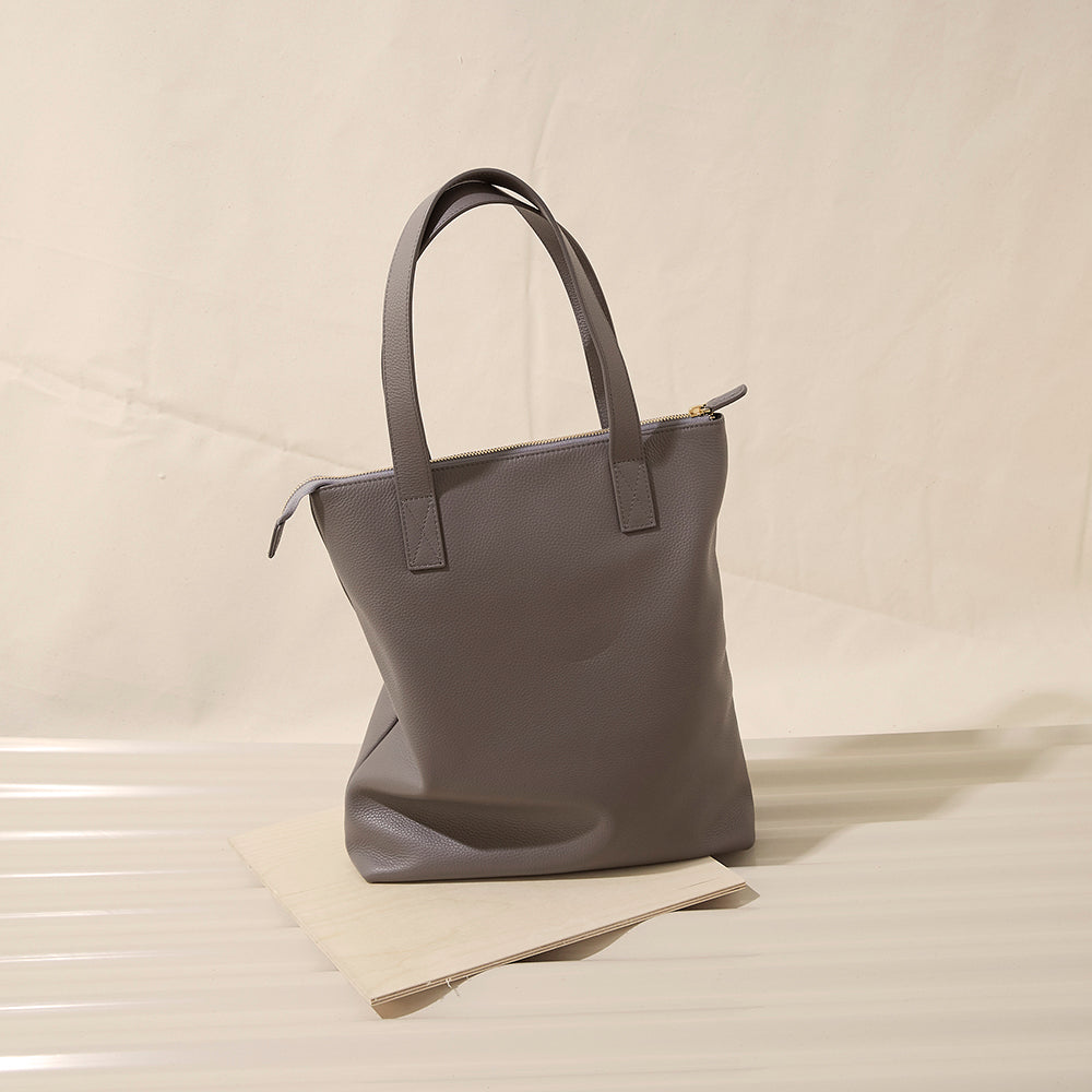 Modern Tote - No° A3 - Clay Pebble Grain