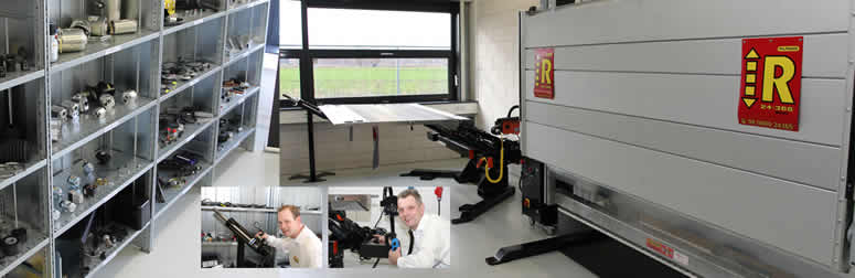 Haco Testing Facility for Tail Lift Parts