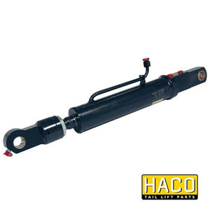 Tilt Ram Cylinder HACO (WITH Extension) to suit MBB 1402736 & 2001435 , Haco Tail Lift Parts - HACO, Nationwide Trailer Parts Ltd - 1