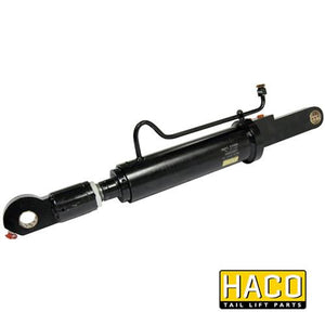 Tilt Ram Cylinder HACO (WITH Extension) to suit MBB 1366286 & 2001434 , Haco Tail Lift Parts - HACO, Nationwide Trailer Parts Ltd - 1