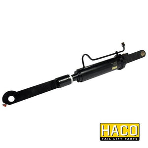 Tilt Ram Cylinder HACO (WITH Extension) to suit MBB 1366302 & 2001430 , Haco Tail Lift Parts - HACO, Nationwide Trailer Parts Ltd - 1