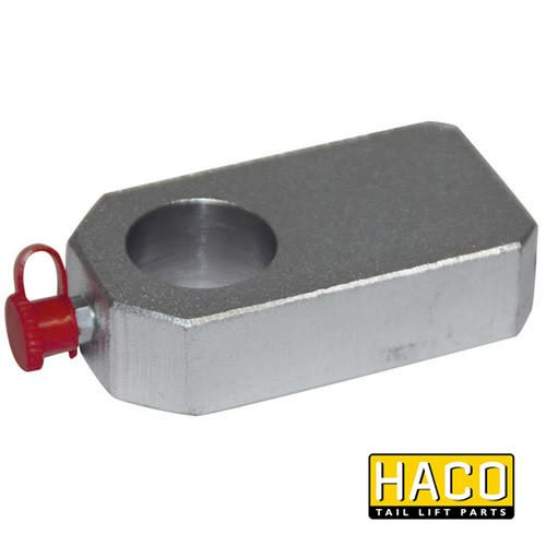 Eye for Folding Cylinder HACO to Suit Bar Cargolift 101124223 , Haco Tail Lift Parts - Bar Cargolift, Nationwide Trailer Parts Ltd