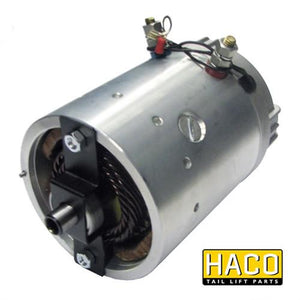 Motor 2kW 24V O star CCW HACO to Suit Zepro 32207 , Haco Tail Lift Parts - HACO, Nationwide Trailer Parts Ltd
