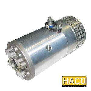 Motor 3.0kW 24V closed F CW ventilated HACO to suit MP022 , Haco Tail Lift Parts - Dhollandia, Nationwide Trailer Parts Ltd