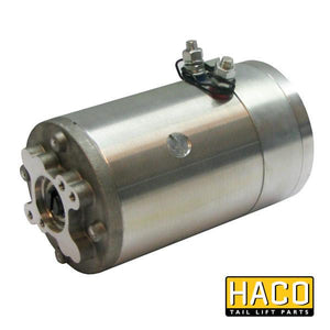 Motor 3.0kW 24V closed F CW HACO to suit MP021 & 21218 , Haco Tail Lift Parts - Dhollandia, Nationwide Trailer Parts Ltd