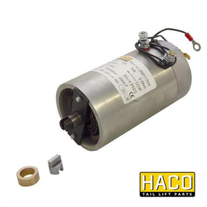 Motor 0,8kW 24V O F CCW HACO to Suit Zepro 32816 & Bar Cargo 101121266 , Haco Tail Lift Parts - HACO, Nationwide Trailer Parts Ltd
