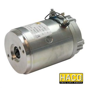 Motor 1,6kW 12V C F CW HACO to Suit Zepro & Dhollandia , Haco Tail Lift Parts - Zepro, Nationwide Trailer Parts Ltd