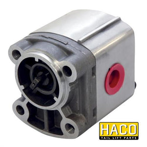 Pump 2,5cc PD-type HACO to Suit Zepro 31126 , Haco Tail Lift Parts - HACO, Nationwide Trailer Parts Ltd