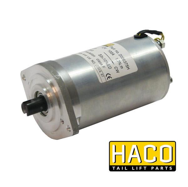 Motor 0.8kW 12V closed F CW HACO to suit 4696-317-6