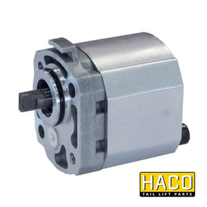 Pump 1,2cc W3B1/R-type HACO to Suit Zepro & Bar Cargo , Haco Tail Lift Parts - HACO, Nationwide Trailer Parts Ltd