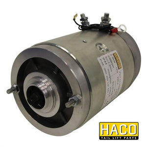 Motor 2kW 12V CW HACO to Suit MBB/RATCLIFF 1353555 & 4696-323-6 , Haco Tail Lift Parts - HACO, Nationwide Trailer Parts Ltd