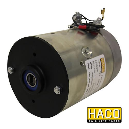 Motor 1.7kW 12V HACO to suit Bar Cargo 101123410