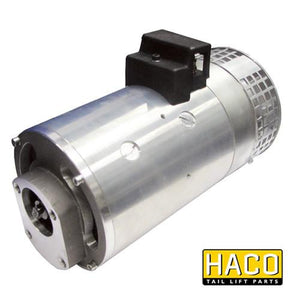 Motor 4.5kW 24V HACO to Suit Dhollandia MP017 , Haco Tail Lift Parts - HACO, Nationwide Trailer Parts Ltd