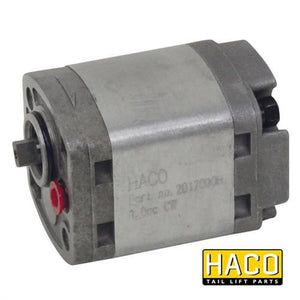 Pump 0,8cc HE1000-type HACO to Suit Zepro 32821 , Haco Tail Lift Parts - HACO, Nationwide Trailer Parts Ltd
