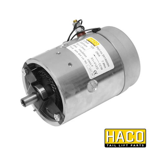 Motor 2kW 12V HACO to suit Bar Cargo 101135311