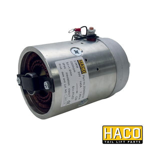 Motor 2kW 24V O F CW HACO to suit 4696-111-5 , Haco Tail Lift Parts - HACO, Nationwide Trailer Parts Ltd