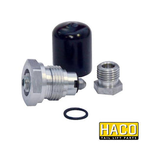 Pressure relief valve HACO to suit Bar Cargo 101123062 , Haco Tail Lift Parts - Bar Cargolift, Nationwide Trailer Parts Ltd