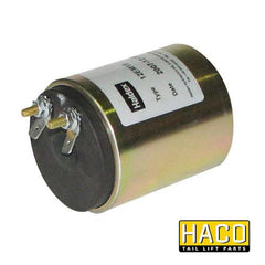 12 Volt Coil EM15 HACO to Suit Zepro 20670 & Dhollandia E0088 , Haco Tail Lift Parts - HACO, Nationwide Trailer Parts Ltd