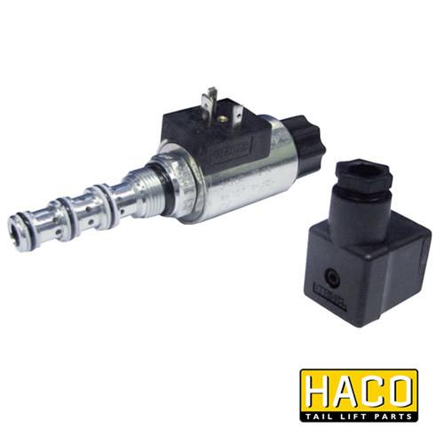 24v Valve to Suit MBB Palfinger 1299421 , Haco Tail Lift Parts - HACO, Nationwide Trailer Parts Ltd