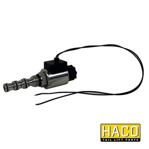 24v Valve HACO to Suit MBB Palfinger 1404298 , Haco Tail Lift Parts - HACO, Nationwide Trailer Parts Ltd