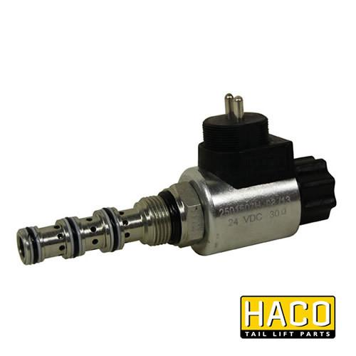 24v Valve HACO to suit Bar Cargo 101123412 , Haco Tail Lift Parts - Bar Cargolift, Nationwide Trailer Parts Ltd